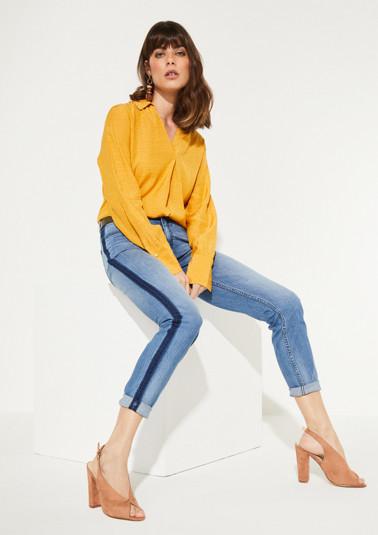 Jeans im dekorativen Used-Look