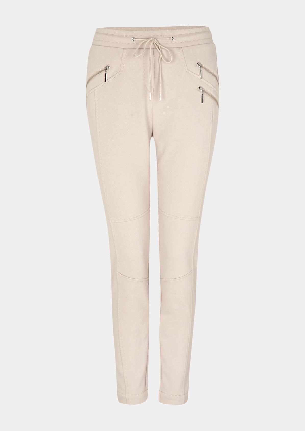 Elegante Loungepants mit Zippertaschen