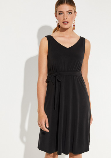 Lightweight summer dress with a tie-around belt from comma