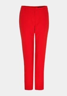 Crêpe business trousers with decorative details from comma