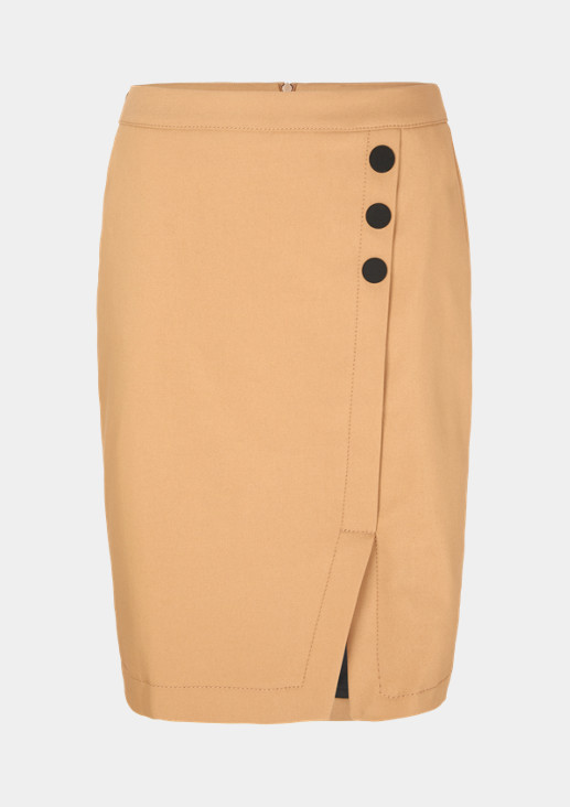 Pencilskirt in Wickeloptik