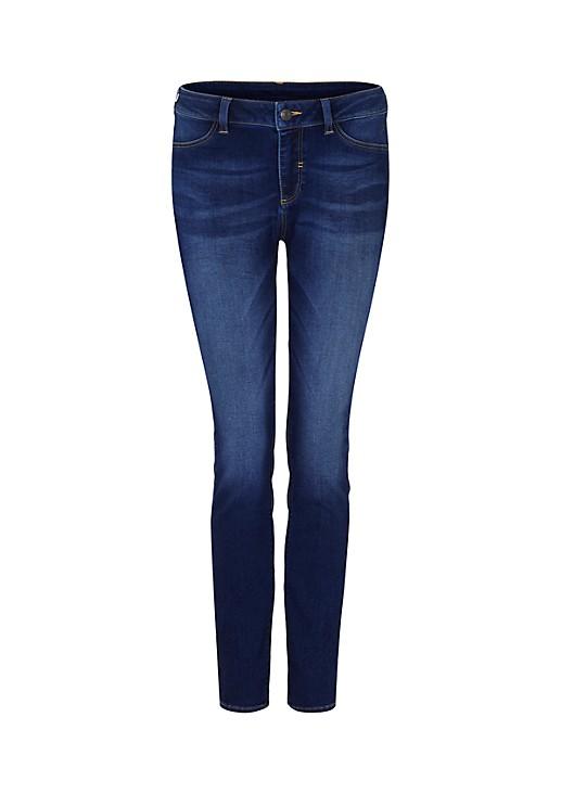 Lässige Jeans in dezenter Used-Optik
