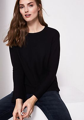 Soft knit jumper with cool details from comma