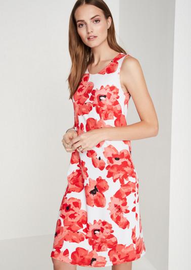 Sommerkleid mit Floral-Allovermuster