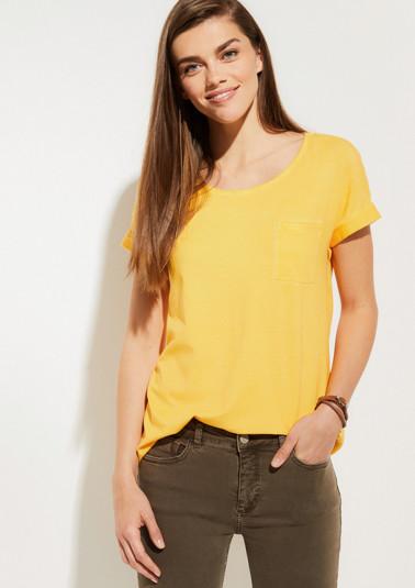 Jerseyshirt mit aufregender Waschung