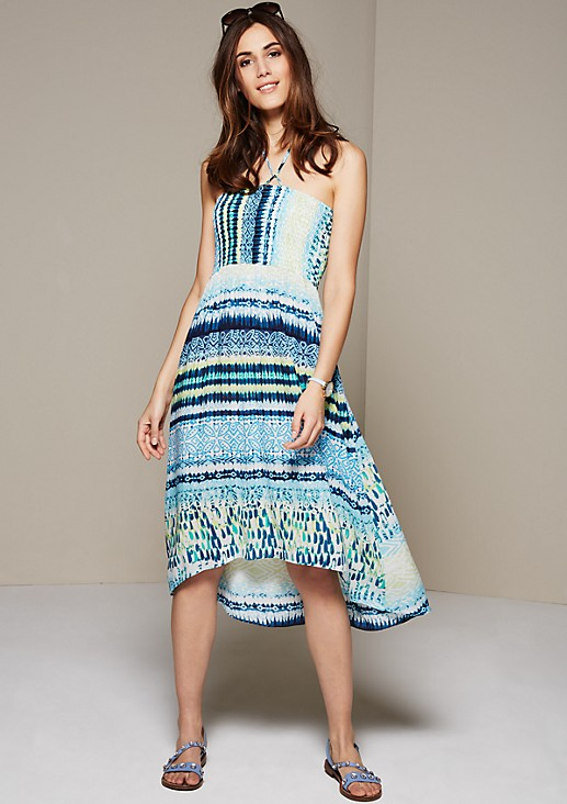 Attractive summer dress with a pretty all-over print from s.Oliver
