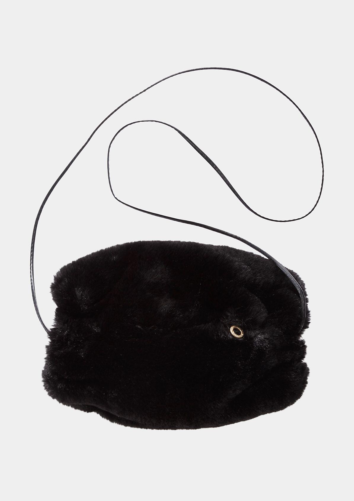 Warmer Muff aus kuscheligem Fake-Fur