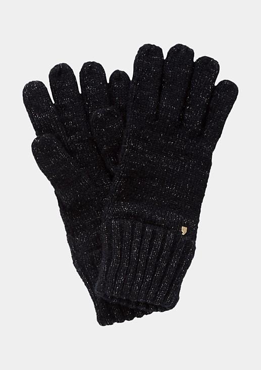 Warme Strickhandschuhe mit schönen Details