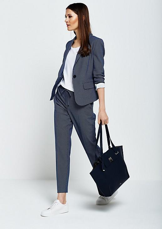Voluminöse Shoppingbag mit herausnehmbarer Innentasche