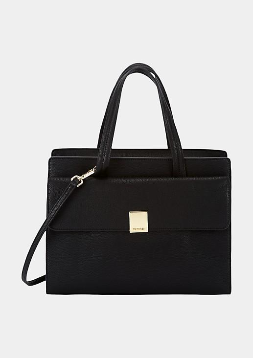 Schöne Handtasche aus weichem Fake-Leder