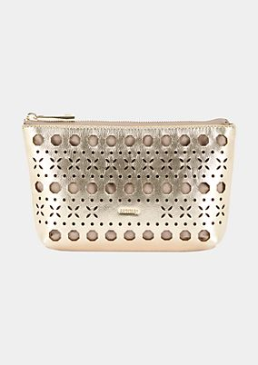 Elegant evening bag with an openwork pattern from comma