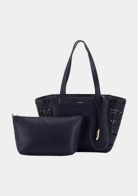 Voluminous shopper bag with detachable inner bag from s.Oliver