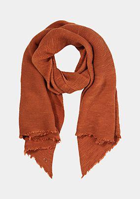 Schal aus weichem Krepp