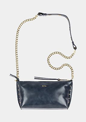 Elegant evening bag in imitation leather from comma