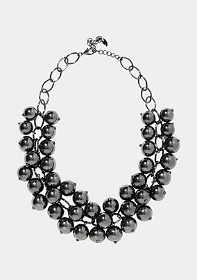 Lavish necklace with ball pendants from comma