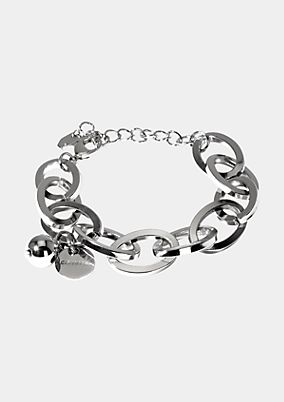 Bracelet with large links from comma