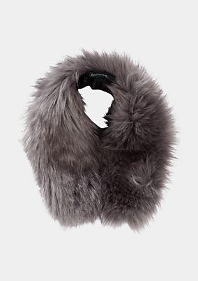 Kuscheliger Kragen als Fake-Fur