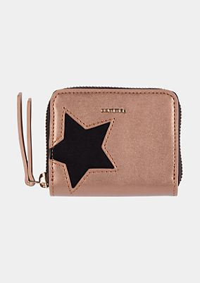 Small purse with star embellishment from comma