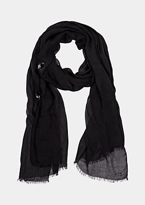 Zarter Schal mit Paillettenverzierungen