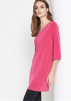 Long sleeve top with 3/4-length sleeves from comma