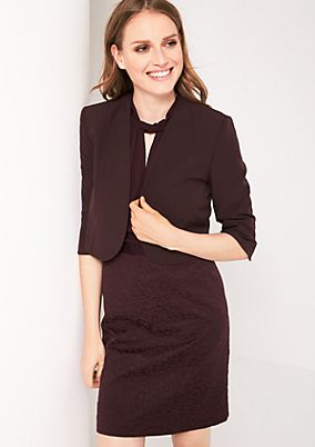 Pretty bolero with 3/4-length sleeves from comma