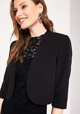 Pretty bolero with 3/4-length sleeves from s.Oliver