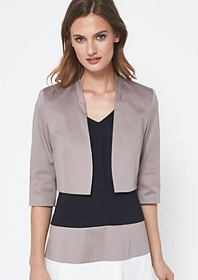 Bolero cardigan with 3/4-length sleeves from comma