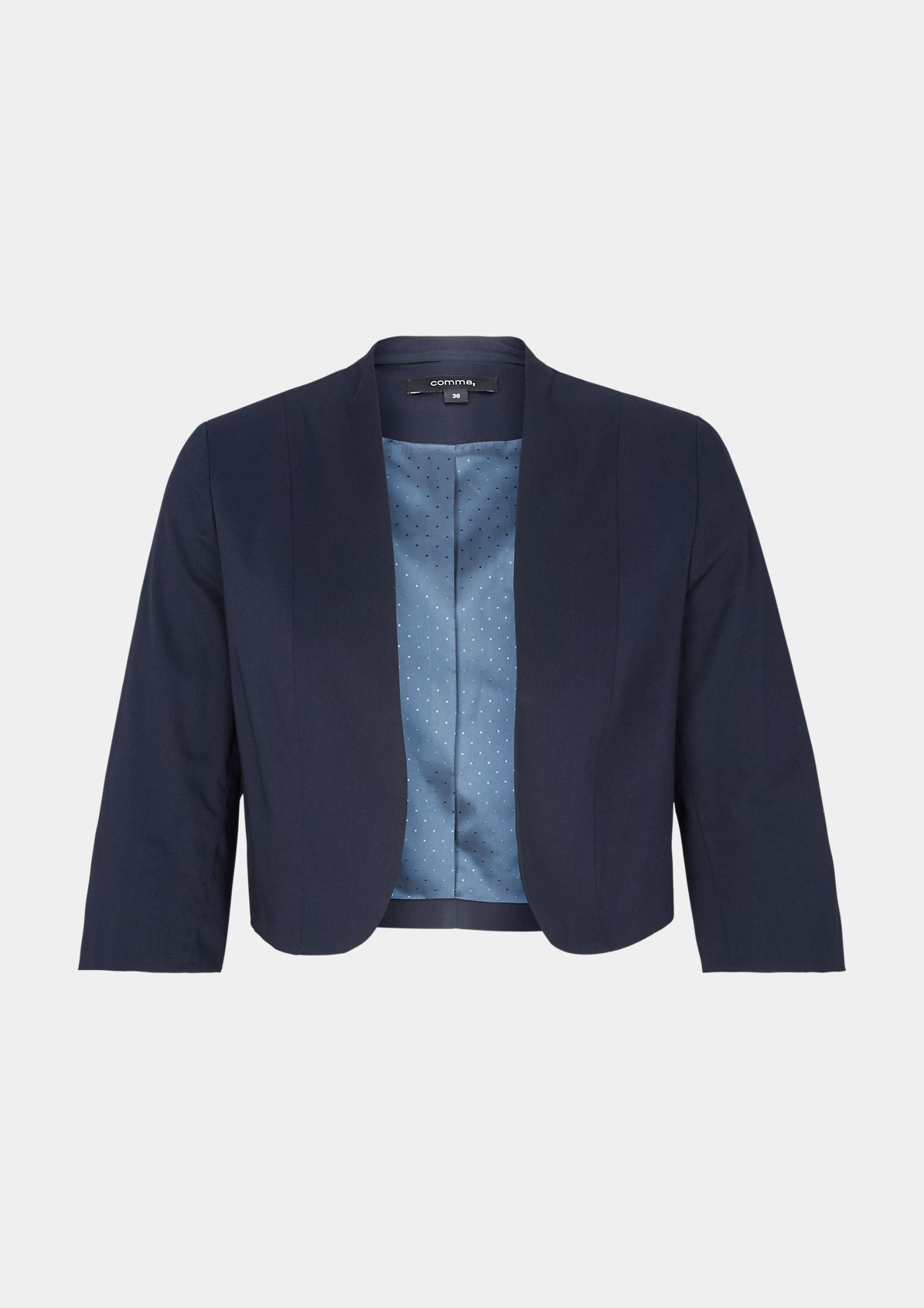 Blazer in Bolero-Optik