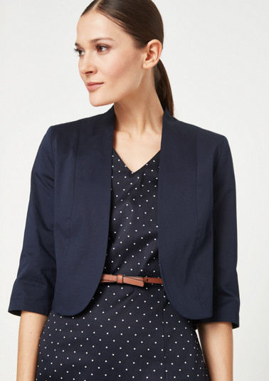 Blazer in a bolero style from comma