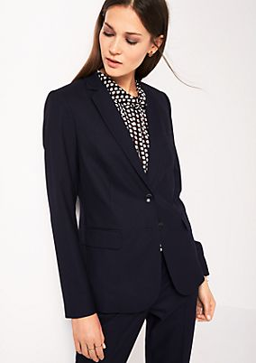 Elegant blazer with fine details from s.Oliver