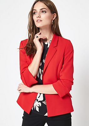 Extravagant blazer with 3/4-length sleeves from comma