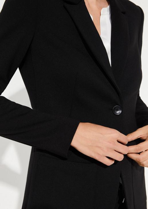 Businessblazer mit aufgesetzten Taschen