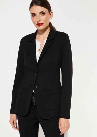 Jersey blazer from comma
