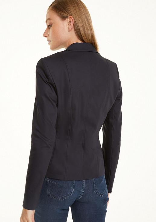 Businessblazer mit Zippertaschen