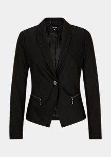 Business blazer with zip pockets from comma