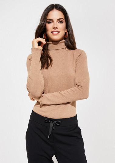 Sweater with turtleneck from comma