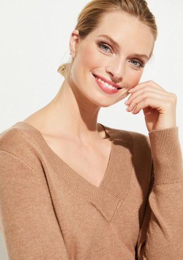 Pullover mit V-Neck