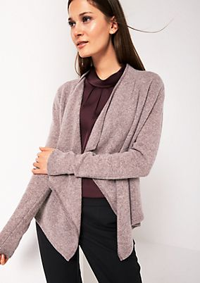 Soft cardigan with decorative details from comma