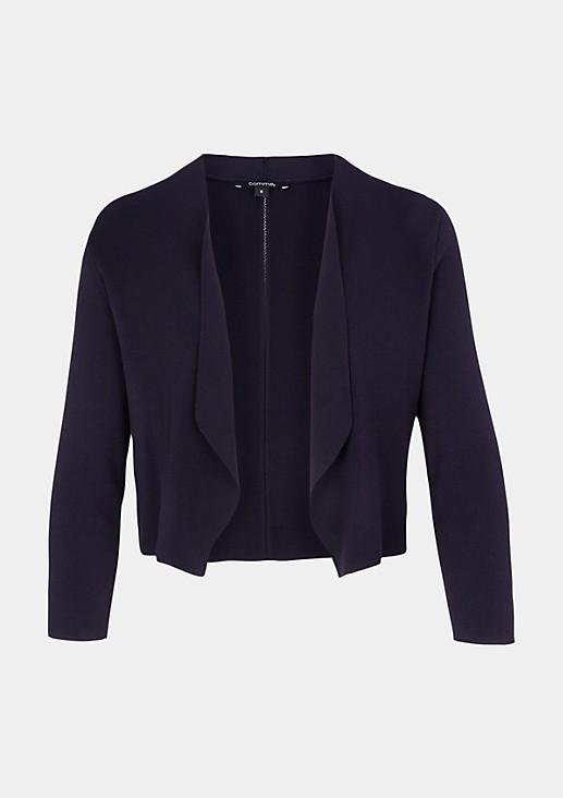85.899.64.0452 Feinstrickbolero | Fashion & Mode | comma Online-Store