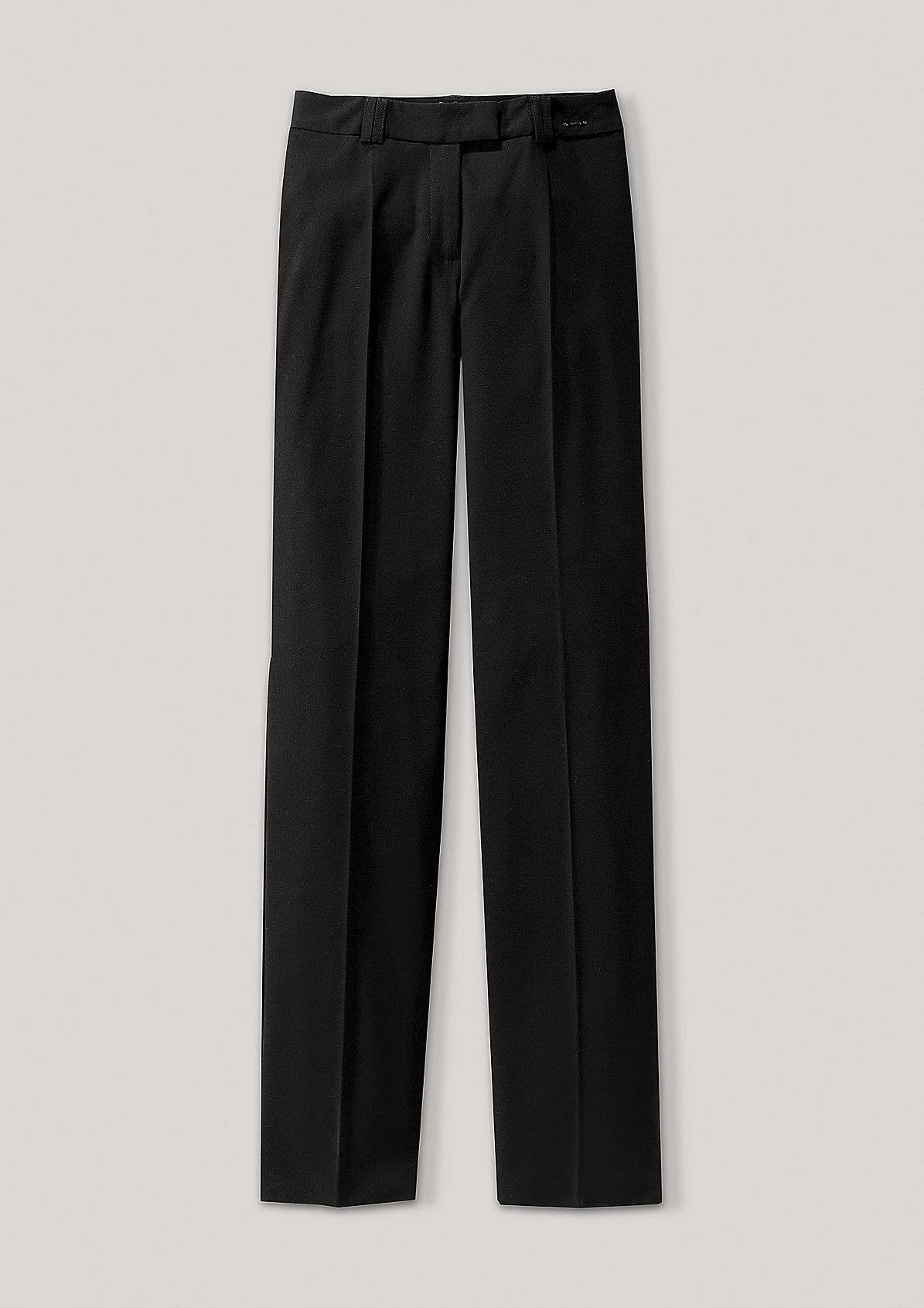 Elegant trousers with pressed pleats from s.Oliver