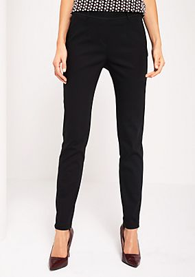Business trousers with elegant details from s.Oliver