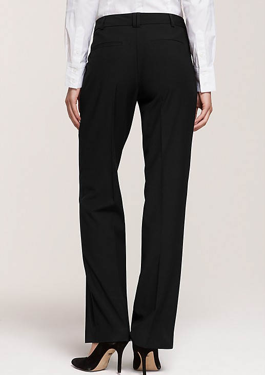Classic suit trousers in an elegant, simple design from comma