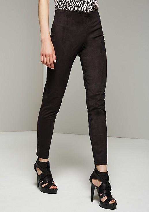 Elegant leggings in imitation leather from s.Oliver