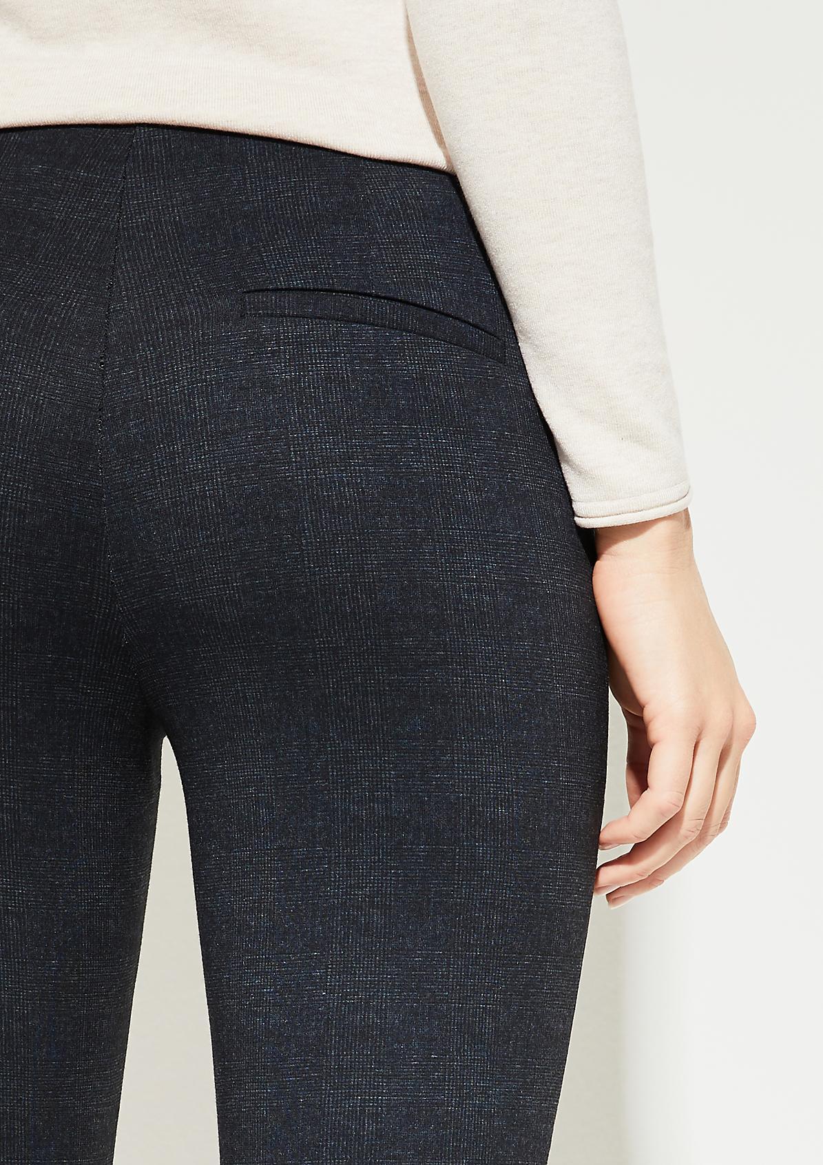 Skinny Fit: Skinny ankle leg-Hose aus elastischer Qualität