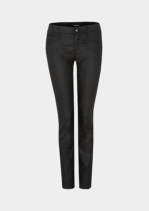 Ultra-lightweight denim trousers with sophisticated details from s.Oliver