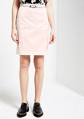 Extravagant satin skirt with beautiful details from comma