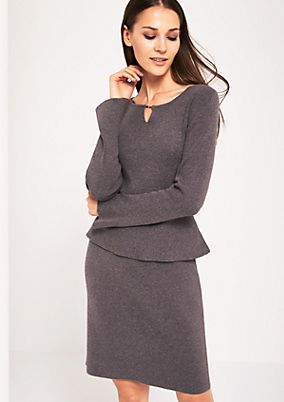 Soft knit evening dress from s.Oliver