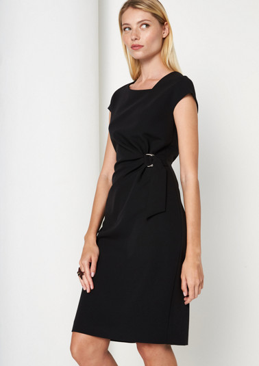 Elegant sheath dress with a belt element from comma