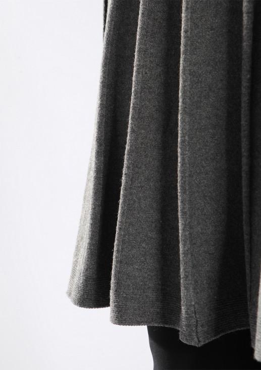 Strickkleid mit Rollkragen und schicker Falten-Optik