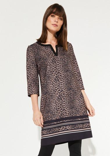 Kleid mit Animal-Muster